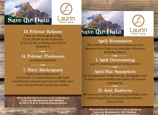 Save The Date – Flyer